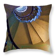 twisted stairs Vizcaya Throw Pillow