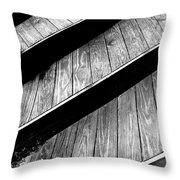 Twisted View Throw Pillow