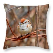 Twisted Vine Perch Throw Pillow