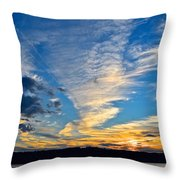 Twister Cloud Throw Pillow