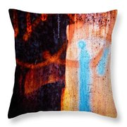 Two As One Throw Pillow
