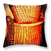 Two Baskets Throw Pillow