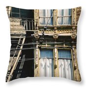 Two By Two San Francisco Throw Pillow