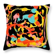 Two Carnival Throw Pillow