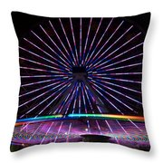 Two Carousels  Throw Pillow