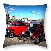 Two Classy Classics Throw Pillow