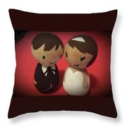 Two Cute Throw Pillow