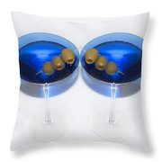 Two Drink Minimum Throw Pillow