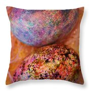 Two Eggs In The Basket Throw Pillow