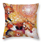 Two Foxes You Have A Friend In Me Throw Pillow