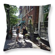Two Friends In Alexandria Throw Pillow