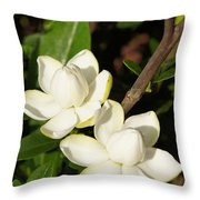 Awesome Blossoms Throw Pillow