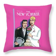 New Yorker June 13th, 1994 Throw Pillow