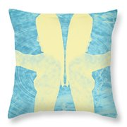 Two Guns Throw Pillow