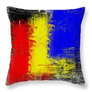 Two In One Out Throw Pillow