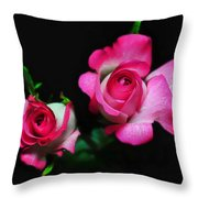 Two In Pink Throw Pillow