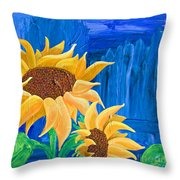 Two In The Sun Throw Pillow