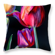 Two Lips 4 You Throw Pillow