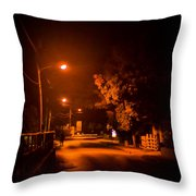 Lovers In The Night Throw Pillow