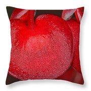 Two Of Hearts Throw Pillow