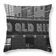 Two Old Hippies In Nashville Throw Pillow