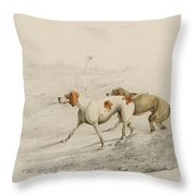 Two Pointers Throw Pillow