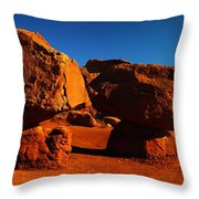 Two Rocks At Cliff Dwellers Throw Pillow