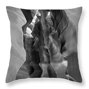 Two Shafts Throw Pillow