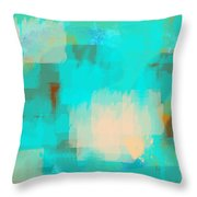 Two Sided World Throw Pillow