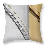Two Tanks Two Steps Throw Pillow