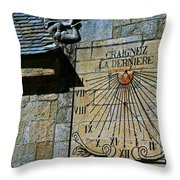 Two-thirty? Throw Pillow