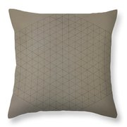 Two To The Power Of Nine Or Eight Cubed Throw Pillow