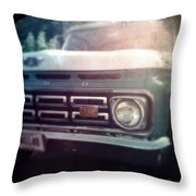 Two-tone Ford Pickup Throw Pillow