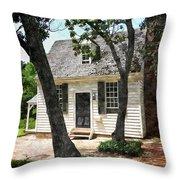 Two Tree Cottage Throw Pillow