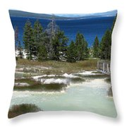 Two Waters Throw Pillow