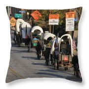 Read The Signs Throw Pillow