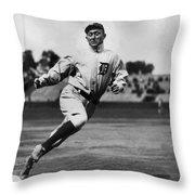 Ty Cobb Throw Pillow