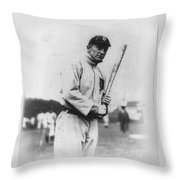 Ty Cobb Throw Pillow