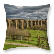 Ty Mawr Country Park Throw Pillow by Adrian Evans
