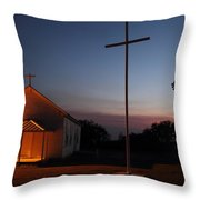 Tye Church 2am-104799 Throw Pillow