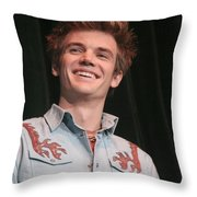 Tyler Hilton Throw Pillow