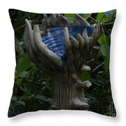 Tyler Statues 1 Throw Pillow
