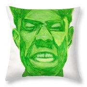 Tyler The Creator Throw Pillow by Michael Ringwalt