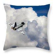 Typhoon Fighter  Throw Pillow