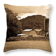 Typical Farm Place 1 Throw Pillow