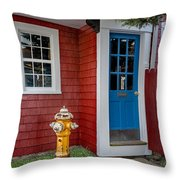 Typical Rockport Massachusetts Throw Pillow