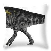 Tyrannosaurus Rex, A Large Predator Throw Pillow