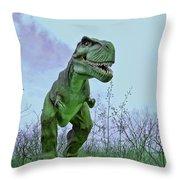 Tyrannosaurus Rex  T- Rex Throw Pillow