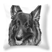 Tyson -038 Throw Pillow
