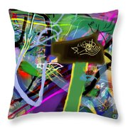 Tzaddik 6g Throw Pillow
